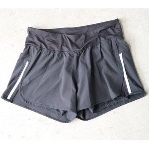 Champion Athletic Black Double Layer Shorts